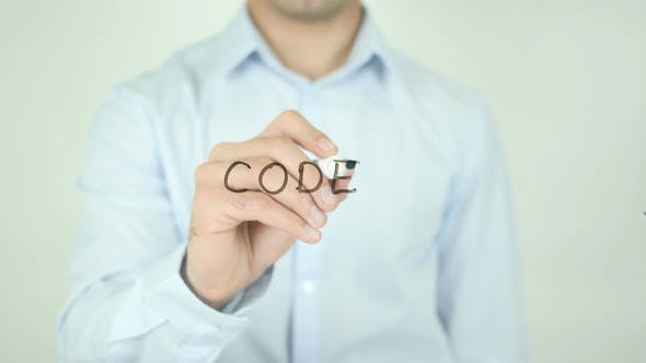 Thumbnail for Code, Writing On Screen