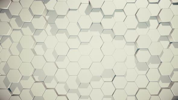 Thumbnail for Moving Hexagons in Random Order