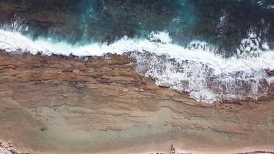 Waves With Natural Pool