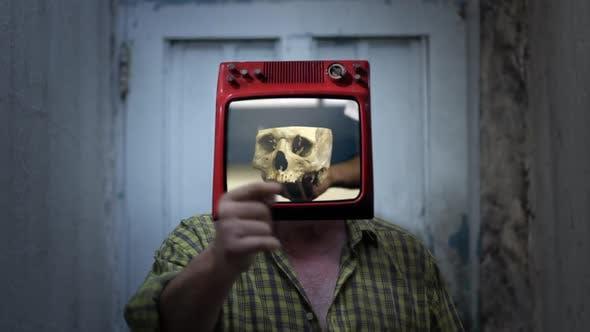 Thumbnail for Human Skull TV Man.