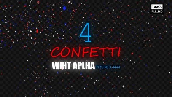 Confetti HD 4Pack