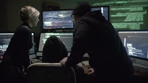 Team of Cybercriminals Stealing Information