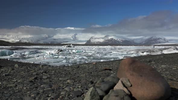Thumbnail for Slide from the Jökulsárlón Glacier lagoon