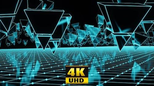 Invasion Of The Neon Pyramids 4K