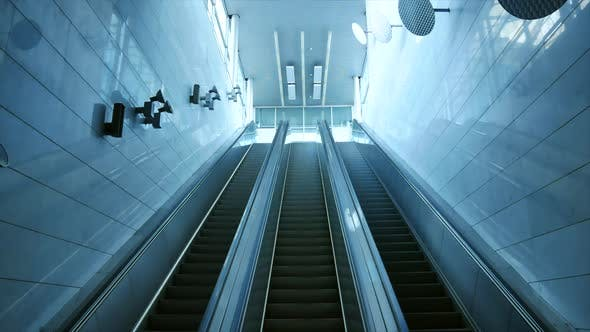 Thumbnail for Escalator Lines in Building 1