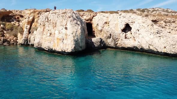 Thumbnail for View From the Sea To Caves in Cavo Greco in Protaras, Cyprus