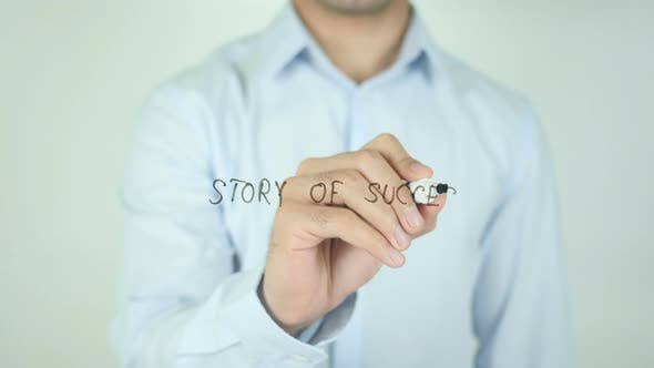 Thumbnail for Story Of Success, Writing On Screen