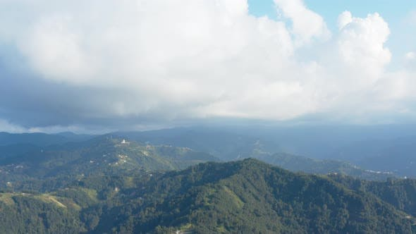 Thumbnail for Trabzon City Forest And Mountains Aerial View 4