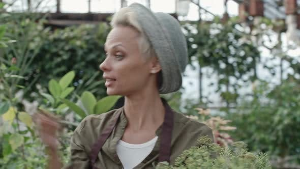 Thumbnail for Beautiful Saleswoman in Farm Shop