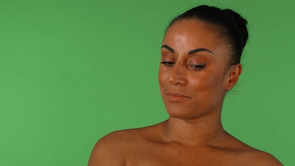 Thumbnail for Shot of a Beautiful African Woman Looking Disappointedly To the Camera
