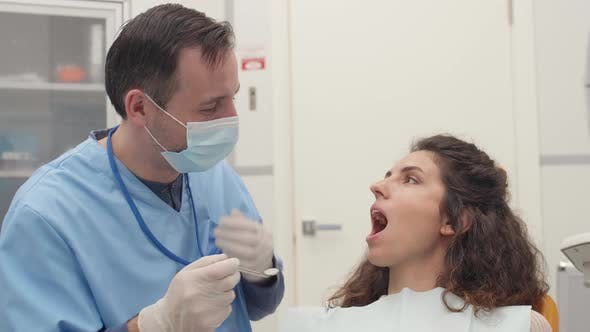 Thumbnail for Dentist Is Treating Female Patient
