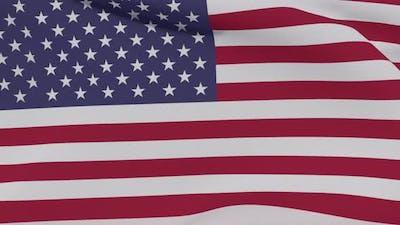 Flag USA Patriotism National Freedom Seamless Loop