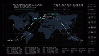 Futuristic Global Satellite GPS Communication01