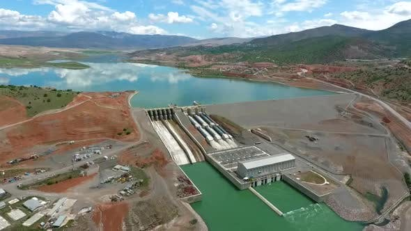 Thumbnail for Aerial View Dam