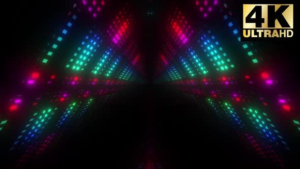 Thumbnail for 5 Colorful Led Tunnel Vj Loop Pack