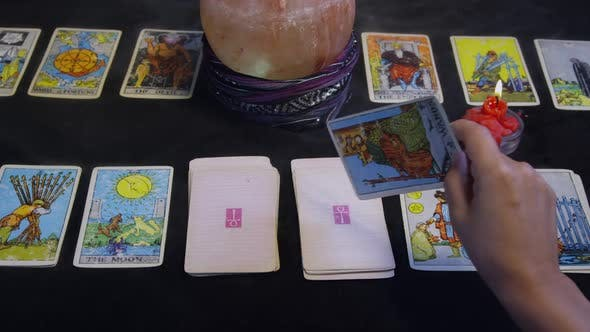 Cover Image for Fortune Teller Predicting Future From Cards 09