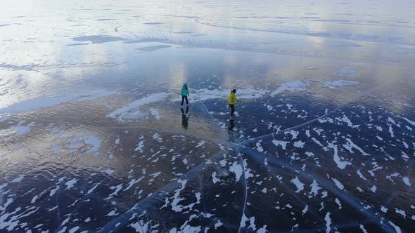 Thumbnail for Skating on the Frozen Lake Baikal