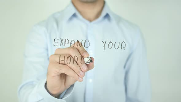 Thumbnail for Expand Your Horizons, Writing On Screen