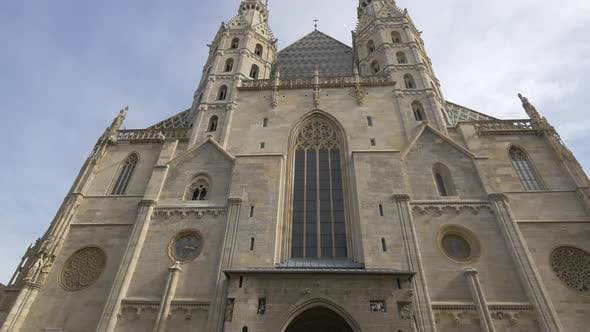 The facade of St. Stephens Cathedral