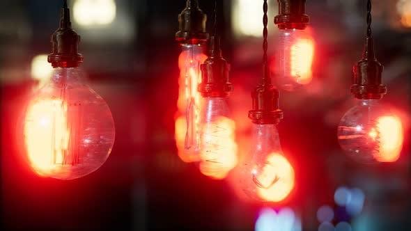 Thumbnail for Old Retro Vintage Incandescent Light Bulb