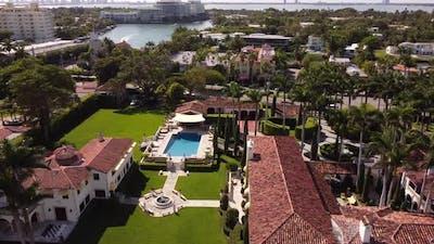 Aerial Video Villa Vecchia Miami Beach