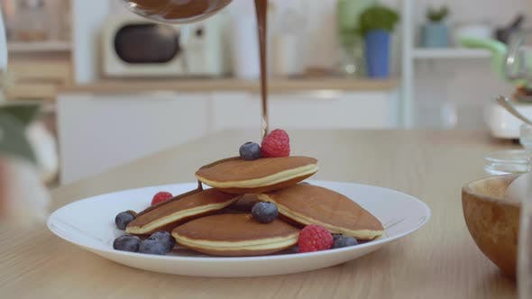 Thumbnail for Delicious Pancakes with Berries