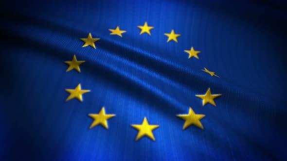 Thumbnail for European Union Flag Seamless Loop