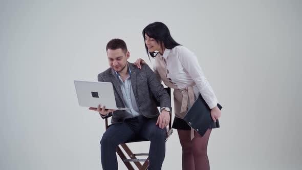 Thumbnail for Studio Portrait of Business Couple