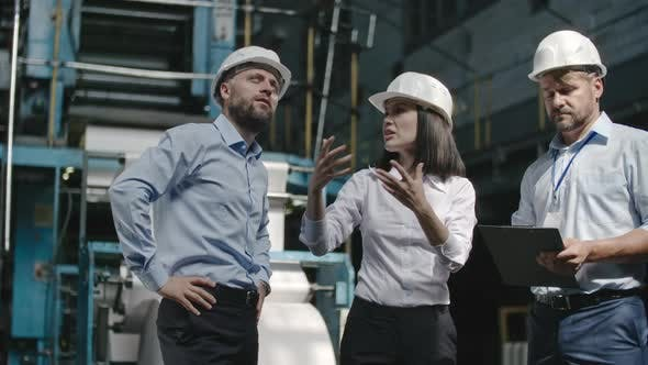 Thumbnail for Chief Engineers Discussing Safety Regulations