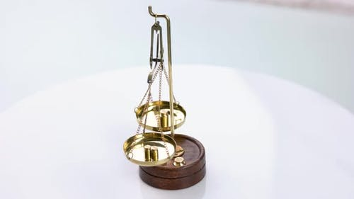 Golden Scales of Justice