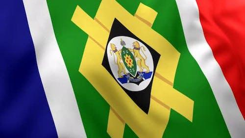 Johannesburg City Flag - 4K