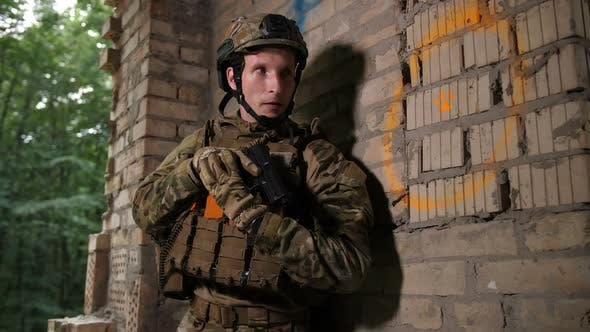 Thumbnail for Soldiers Neutralizing Terrorists in the Building