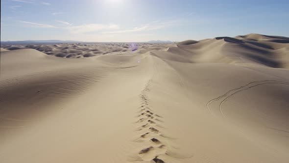 Thumbnail for Footprints in the sand