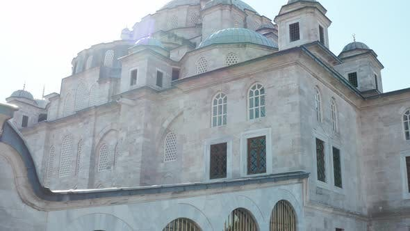Fatih Mosque Exterior Aerial View 3