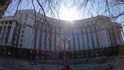 The Symbol of Politics in Ukraine  Government Building