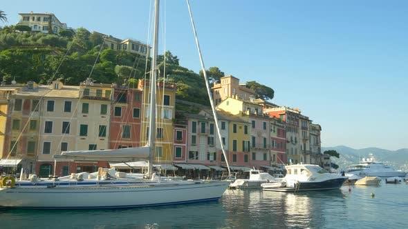 Portofino, Italy, a luxury travel destination resort town in Europe