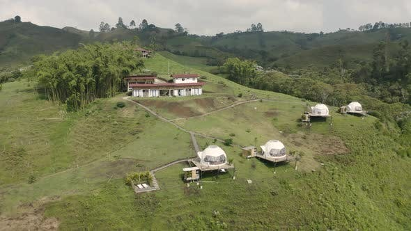 Aerial view of ECOHOTEL MONTE TIERRA GLAMPING
