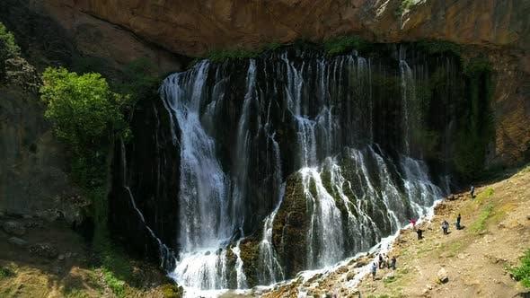 Thumbnail for Rocky Natural Waterfall