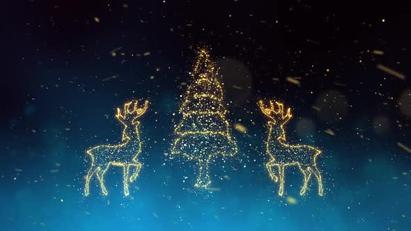 Thumbnail for Christmas Tree With Reindeer