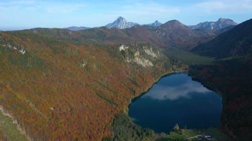 Beautiful Austrian Autumn Lake 15