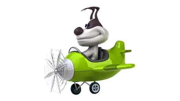 Fun dog pilot
