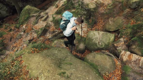 Thumbnail for Climbing Up the Rocks
