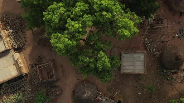 Thumbnail for Africa Mali Village Top View 3