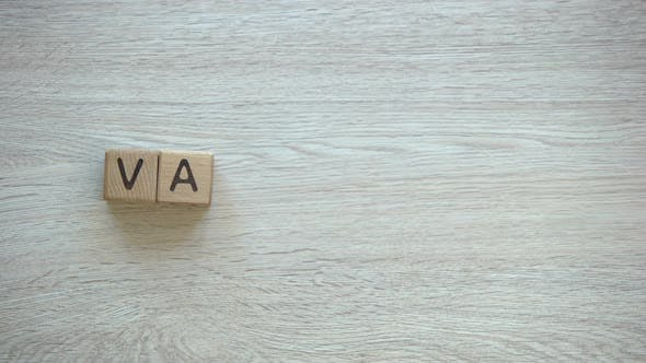 Thumbnail for Vacation, Stop Motion Word on Wooden Cubes, Family Holiday Rest From Work