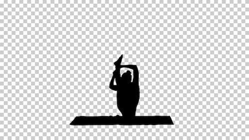 Silhouette  Yogi , Alpha Channel