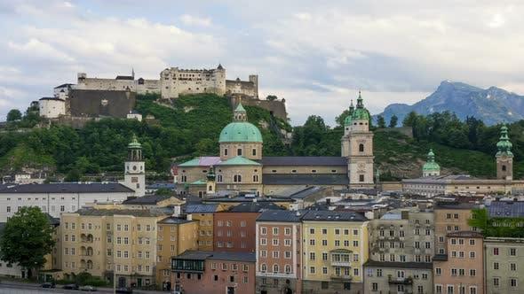 Evening Austrian Salzburg