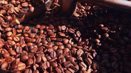 Coffee In Roasting Machine 5