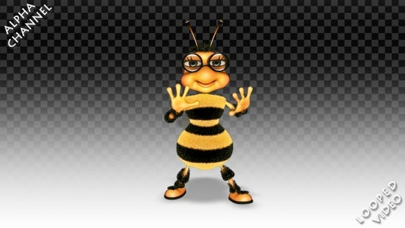 Thumbnail for Cartoon Bee - Break Dance
