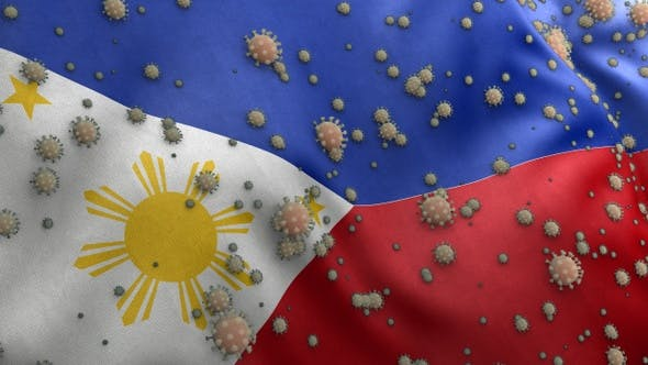 Thumbnail for Covid Philippines Flag / Corona Philippines Flag