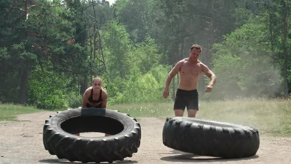 Thumbnail for Full-Body Tire Workout